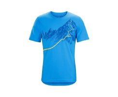 ARCTERYX AFTERGLO HEAVYWEIGHT T-SHIRT HERREN BOMBORA