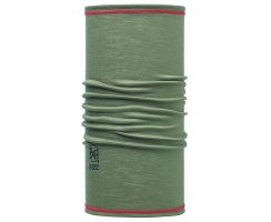BUFF 3/4  MERINO WOOL BUFF SOLID MOOS GREEN