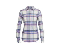 ICEBREAKER COOL-LITE KALA LONG SLEEVE SHIRT DAMEN ABYSS