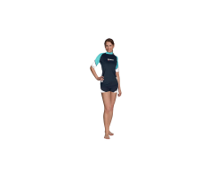 MARES RASH GUARD LOOSE FIT KURZÄRMLIG SHE DIVES