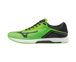 MIZUNO RUNNING WAVE SONIC GREEN/BLACK/WHITE