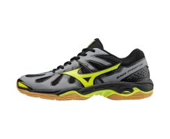 MIZUNO WAVE PHANTOM M STEAL GREY/SYELLOW/BLACK