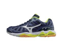 MIZUNO WAVE TORNADO X M BLUE DEPTH/WHT/SYELLOW
