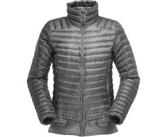 NORRONA WOMEN LOFOTEN SUPER LIGHTWEIGHT DOWN JACKET MERCURY