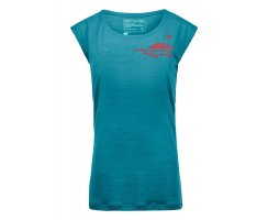 ORTOVOX 150 COOL FARM T-SHIRT W AQUA