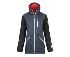 ORTOVOX SWISSWOOL BLACK VERBIER PARKA DAMEN NIGHT BLUE