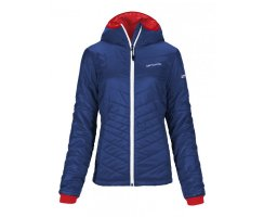 ORTOVOX SWISSWOOL JACKE PIZ BERNINA DAMEN STRONG BLUE