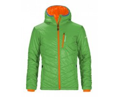 ORTOVOX SWISSWOOL JACKE PIZ BIANCO HERREN ABSOLUTE GREEN
