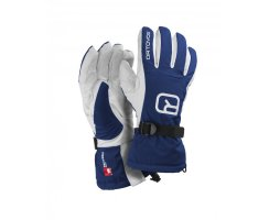 Ortovox Swisswool Glove Freeride STRONG BLUE
