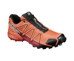 SALOMON SPEEDCROSS 4 FLAME/BLACK/RED DALHIA