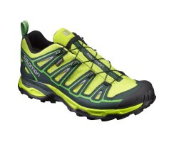 SALOMON X ULTRA 2 GTX LIME PUNCH/SCARAB/CLASSIC GREEN