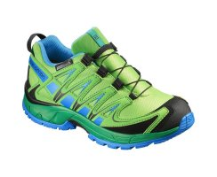 SALOMON XA PRO 3D CSWP J TONIC GREEN/ATHLETIC GREEN...