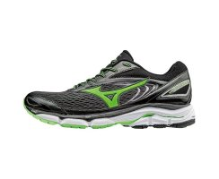 MIZUNO RUNNING WAVE INSPIRE 13 DARK SHADOW/GREEN GECKO/BLACK