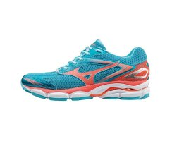 MIZUNO WOMEN RUNNING WAVE ULTIMA BLUE ATOLL/FIERY...