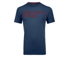 ORTOVOX 150 COOL EQUIPMENT T-SHIRT M NIGHT BLUE