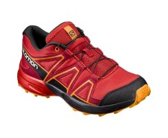 SALOMON SPEEDCROSS J FIERY RED/BLACK