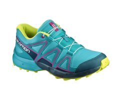 SALOMON SPEEDCROSS J CERAMIC/REFLECING POND/LIME PUNCH