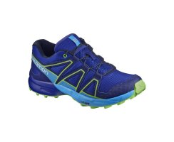 SALOMON SPEEDCROSS J SURF THE WEB/GREEN FLASH