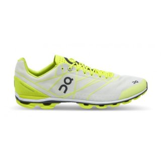 ON RUNNING CLOUDFLASH HERREN NEON/WHITE