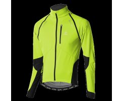 LÖFFLER HR. BIKE ZIP-OFF JACKE SAN REMO WS LIGHT LIME