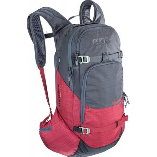 EVOC LINE R.A.S. 20l HEATHER CARBON GREY / HEATHER RUBY
