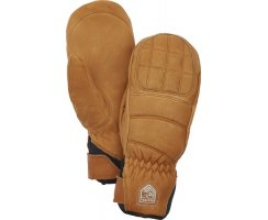 HESTRA WOMAN LEATHER FALL LINE MITT CORK