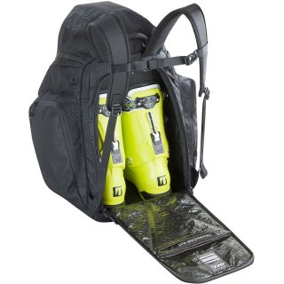 EVOC SNOW BOOT HELMET BACKBAG BLACK