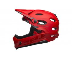 Bell Super DH Mips mt/gl crimson/black
