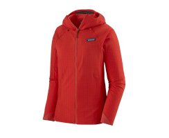 Patagonia Womens R1® TechFace Hoody Catalan Coral