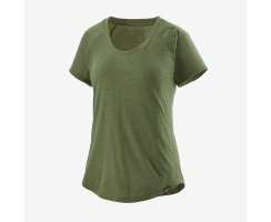 Patagonia Womens Capilene® Cool Trail Shirt Camp Green