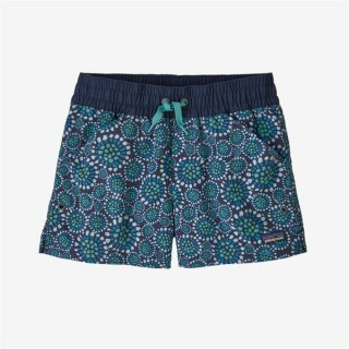 Patagonia Girls Costa Rica Baggies® Shorts Tropical Bloom