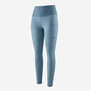 Patagonia Womens Lightweight Pack Out Tights Pigeon Blue