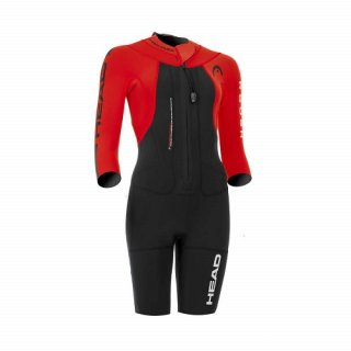 HEAD NEOPREN SWIMRUN ROUGH LADY BLACK/RED L