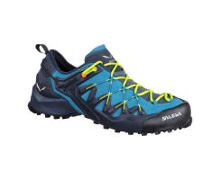 Salewa Wildfire Edge Schuhe Herren Navy/Fluo/Yellow