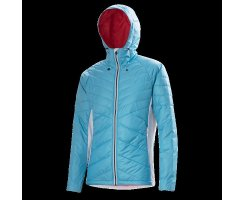 LÖFFLER HOODED JACKET PRIMALOFT 100 CB CRYSTEL