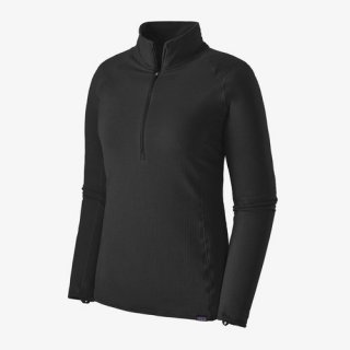 Patagonia Womens Capilene® Thermal Weight Zip-Neck Black