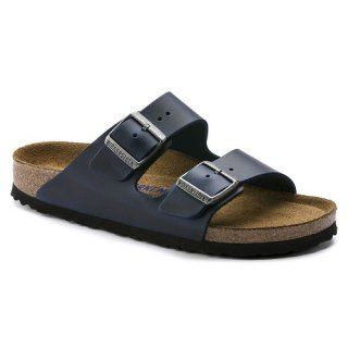 BIRKENSTOCK UNISEX ARIZONA BS WEICHB. NARROW FIT BLUE