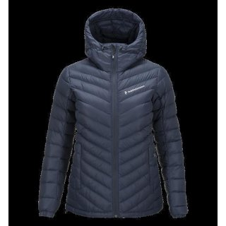PEAK PERFORMANCE WOMEN'S FROST DOWN HOODED JACKET BLUE SHADOW