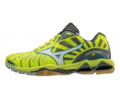 MIZUNO VOLLEYBALL WAVE TORNADO X SAFETY YELLOW/WHITE/DARK...