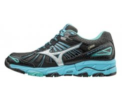 MIZUNO WOMEN RUNNING WAVE MUJIN 3 G-TX DARK SHADOW/SILVER