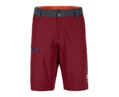 ORTOVOX MERINO SHIELD ZERO PELMO SHORTS M DARK BLOOD