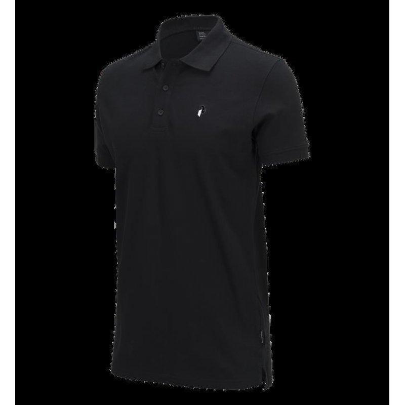 peak performance herren golf poloshirt schwarz 70 00. Black Bedroom Furniture Sets. Home Design Ideas