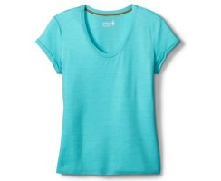 SMARTWOOL WOMENS MERINO 150 PATTERN BOYFRIEND TEE LIGHT...