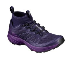 SALOMON XA ENDURO W EVENING BLUE/GRAPE JUICE/BLACK