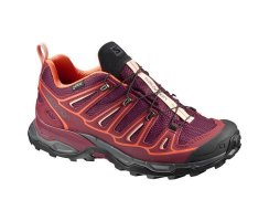SALOMON X ULTRA 2 GTX W FIG/TIBETAN RED/FLAME