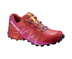SALOMON SPEEDCROSS PRO W POPPY RED/VIOLET ROSE/BLACK