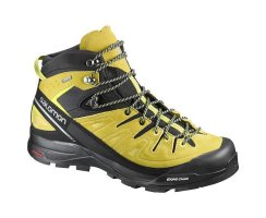 SALOMON X ALP MID ULTRA GTX BLACK/ALPHA YELLOW/GECKO GREEN