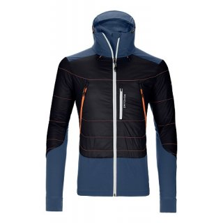 MERINO NATURETEC LIGHT SWISSWOOL PIZ PALÜ JACKET M BLACK RAVEN