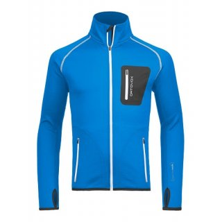 MERINO FLEECE JACKET M BLUE SEA