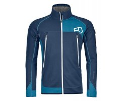 MERINO FLEECE PLUS JACKET M NIGHT BLUE